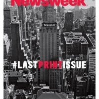 The end of print – the final issue of Newsweek