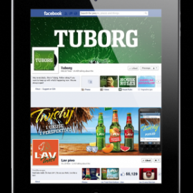 Tuborg B-H Facebook sayfası