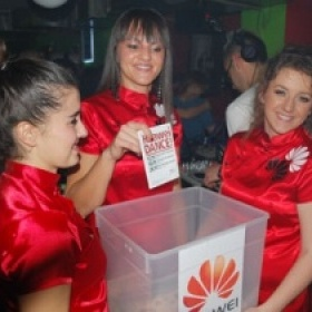 Huawei dance partisi - video