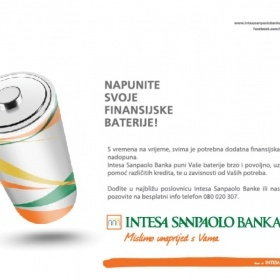 "Creative campaign ""Fill your financial Battery"""