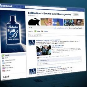 Ballantine's Facebook fun page