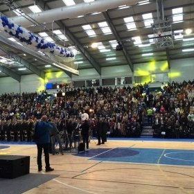 Grand opening of Grbavica sports hall & gym