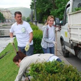 Donat Mg – Akcija čišćenja obala i korita rijeke Miljacke